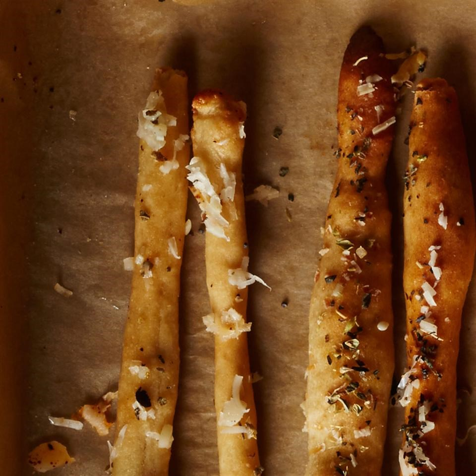 Oregano & Asiago Breadsticks