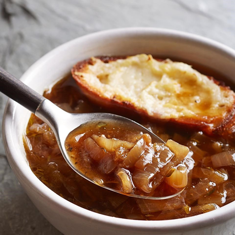 brown onion soup