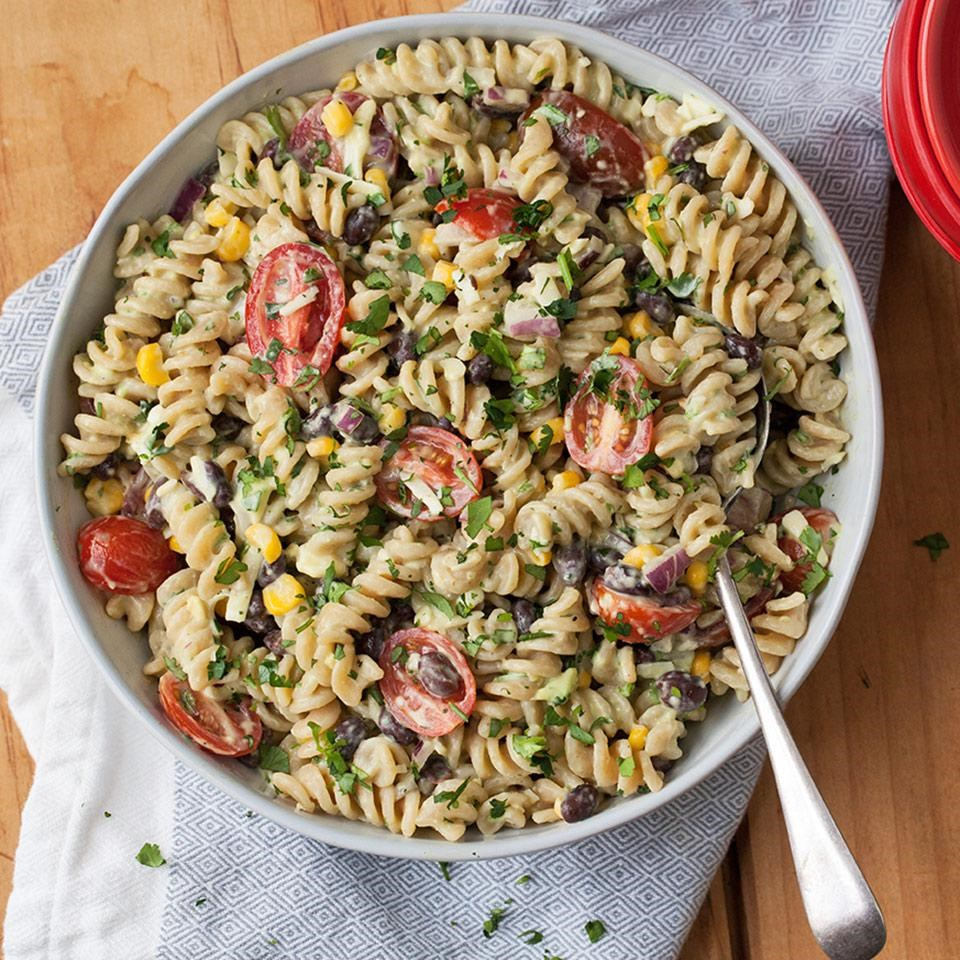 Healthy Low Fat Pasta Salad 54