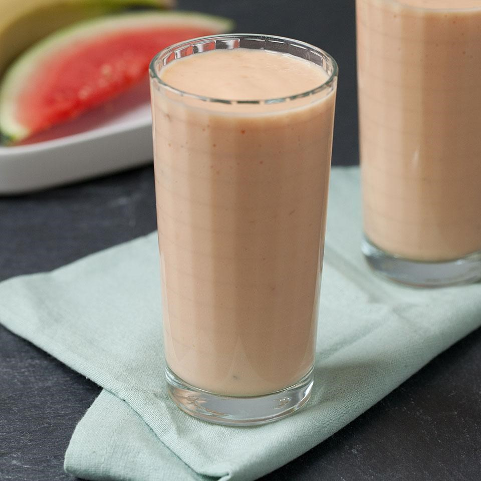 Watermelon-Mango Smoothie