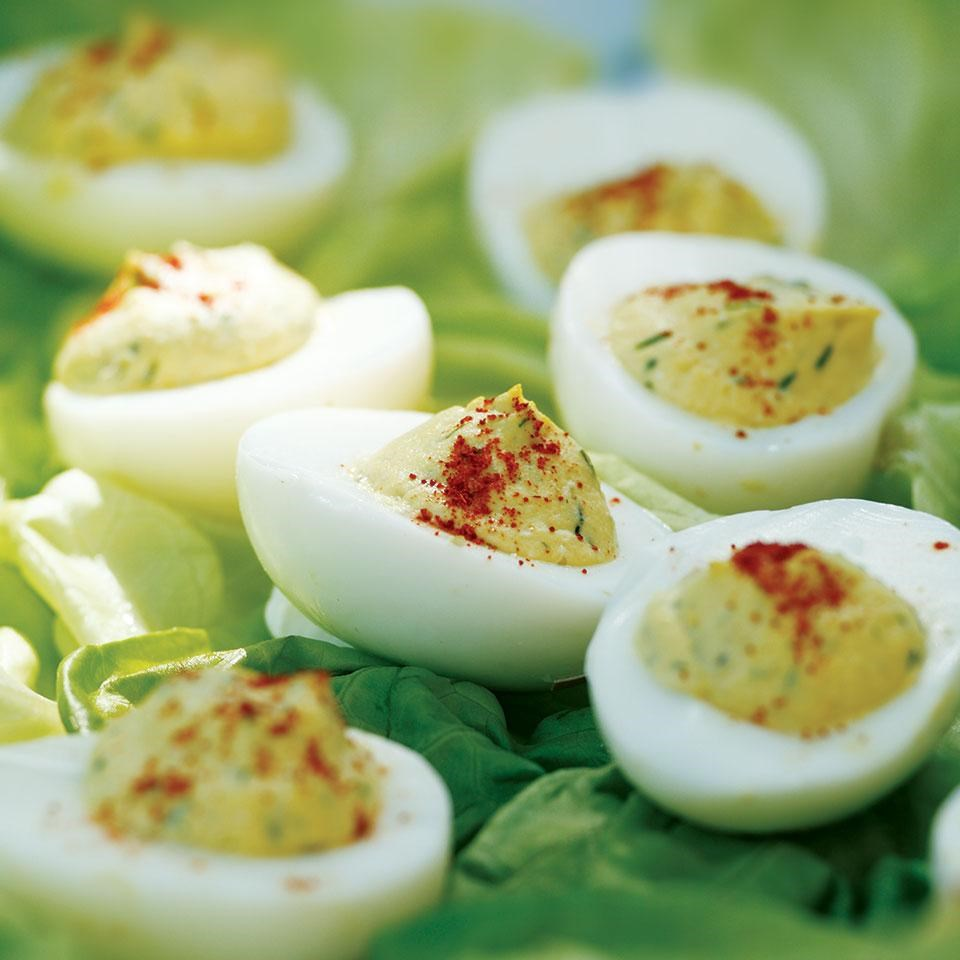 Deviled Eggs with Relish