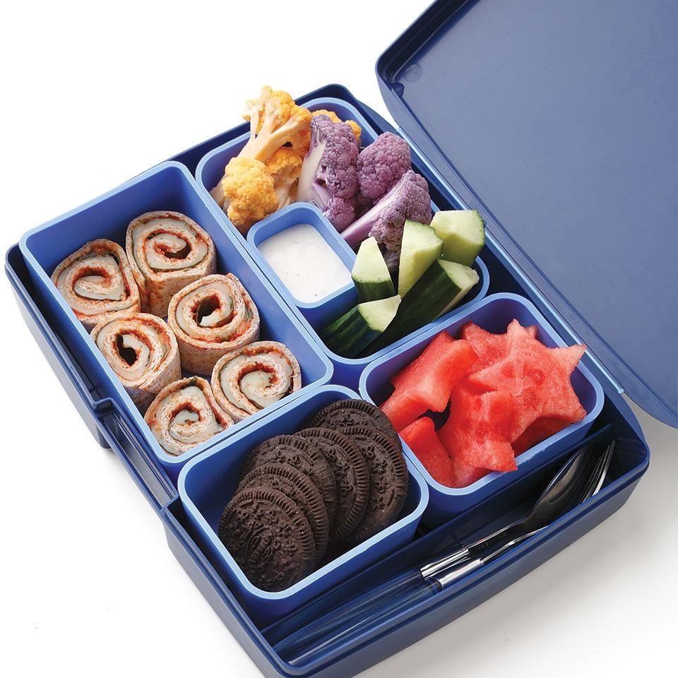 Pizza Roll-Up Bento Lunch