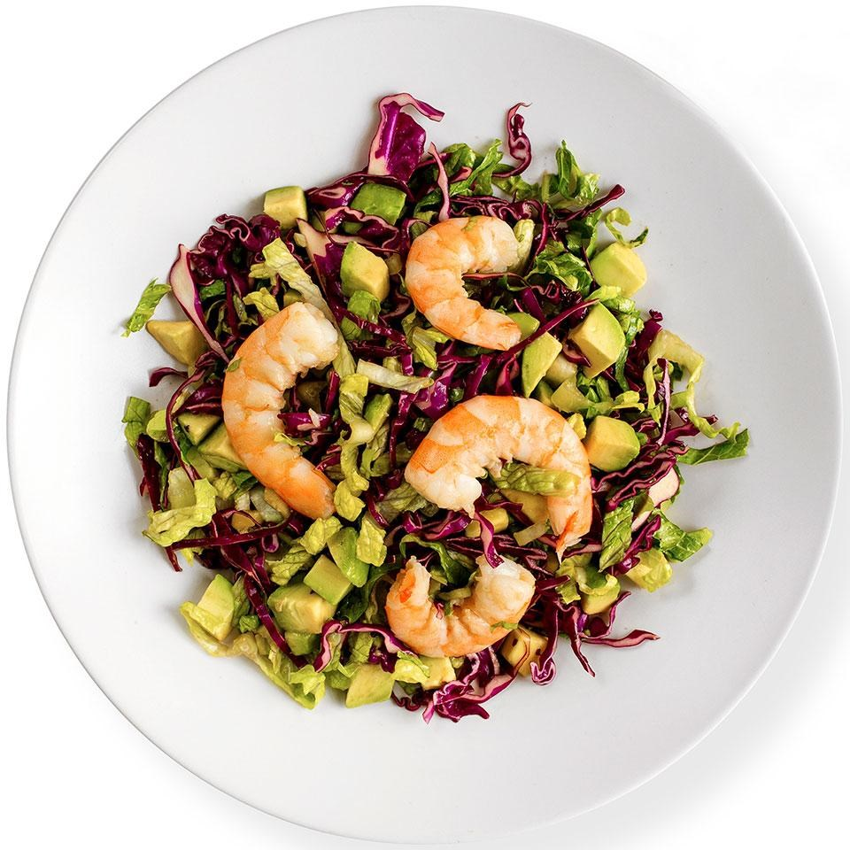 Orange-Sesame Shrimp Salad