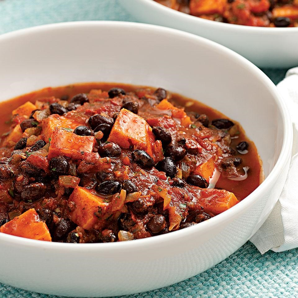 Sweet Potato & Black Bean Chili Recipe - EatingWell