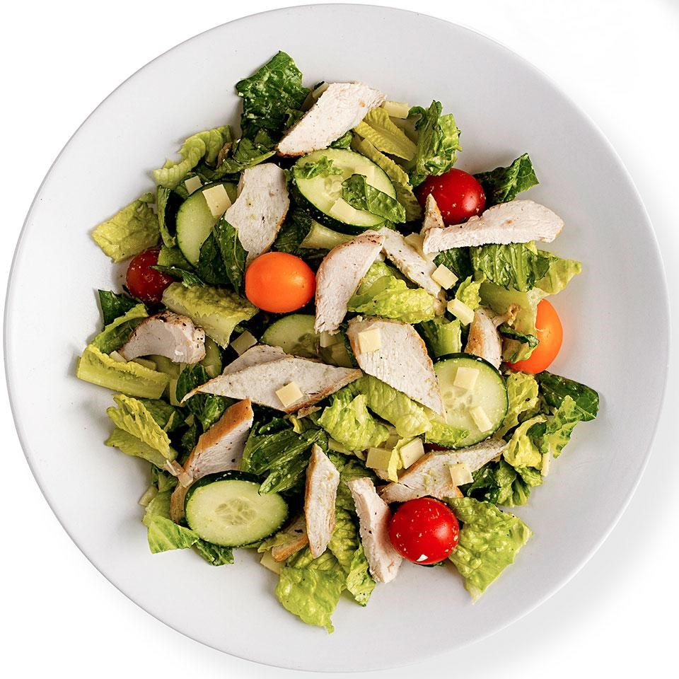 Green Goddess Salad with Chicken