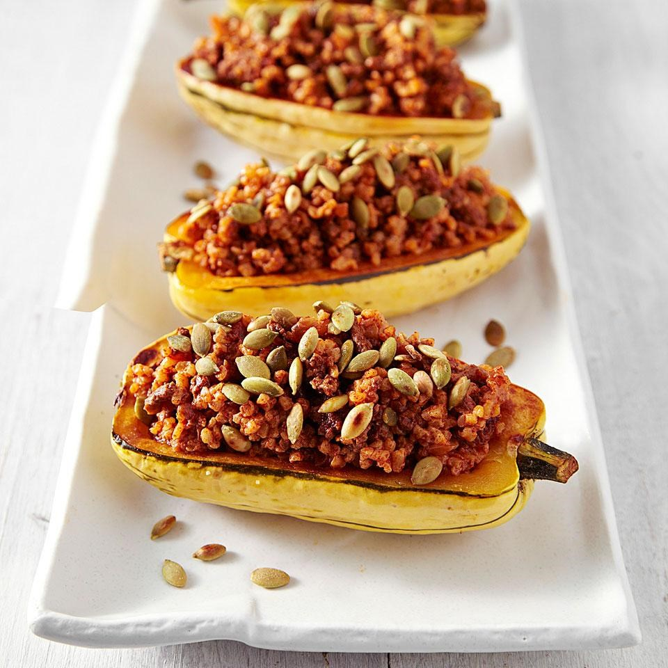 Stuffed Delicata Squash Recipe Eatingwell