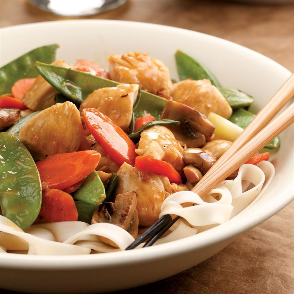 Lemon-Chicken Stir Fry