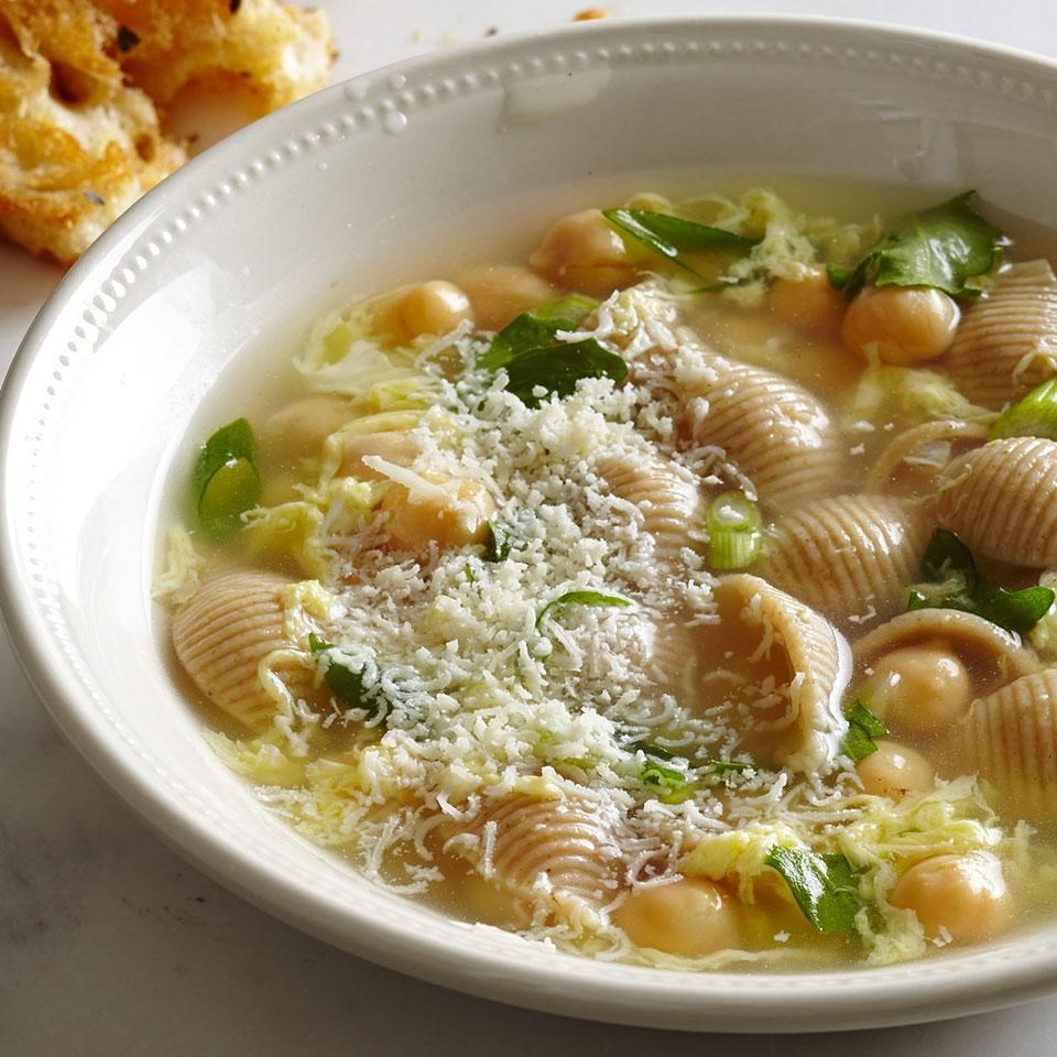 Italian Egg-Drop Soup Recipe - EatingWell