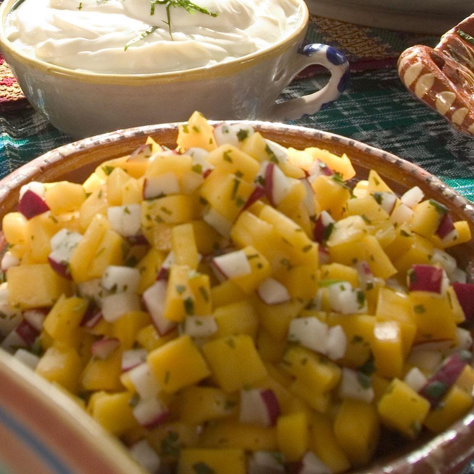 Mango-Radish Salsa