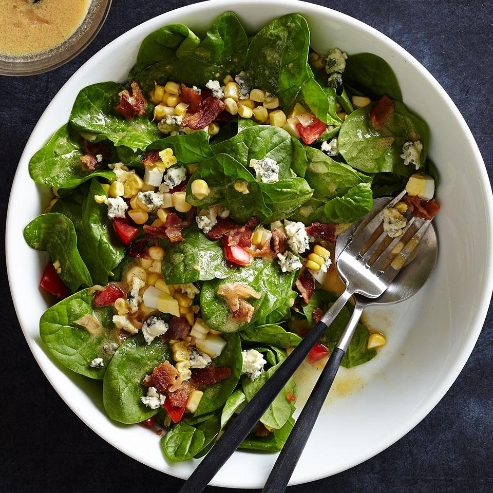 Blue Cheese & Spinach Salad Recipe