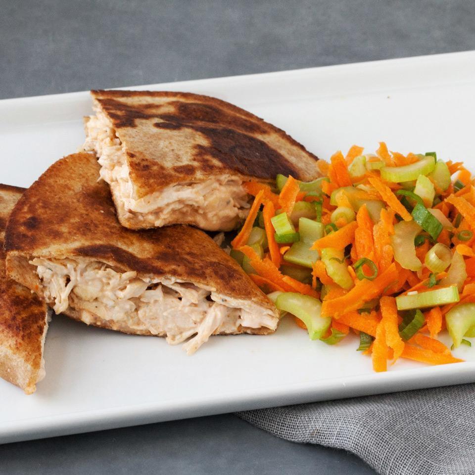 Buffalo Chicken Quesadillas Recipe Eatingwell