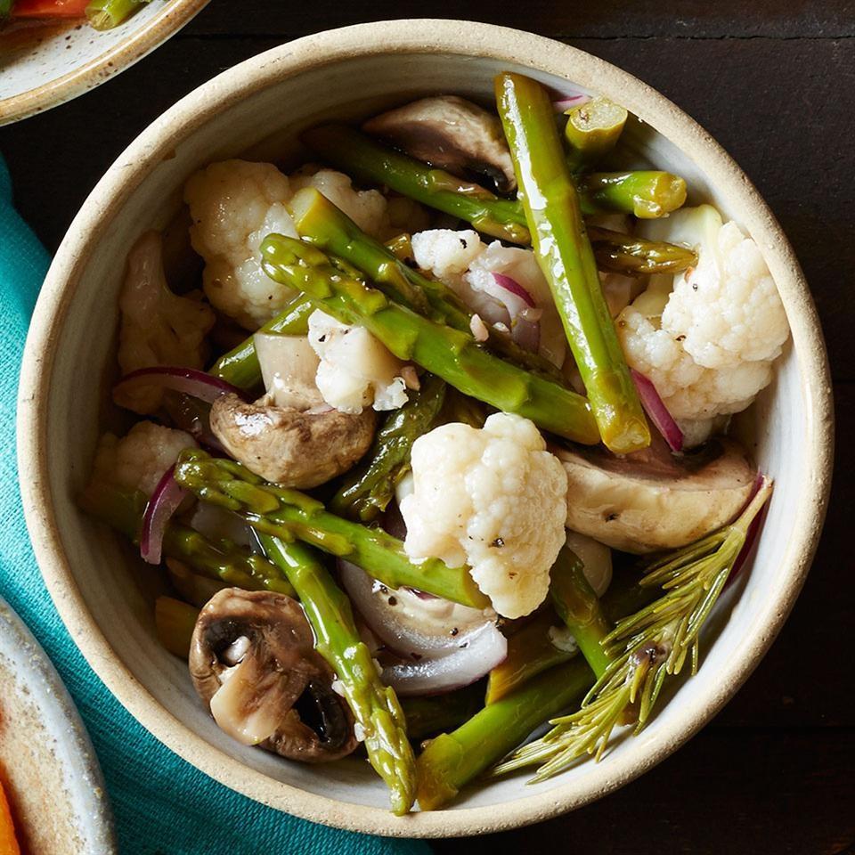 Rosemary-Garlic Marinated Vegetables