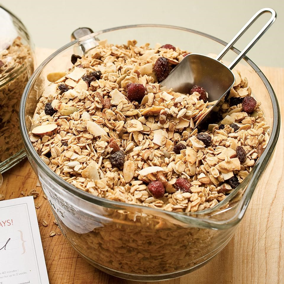 Maple-Nut Granola Recipe