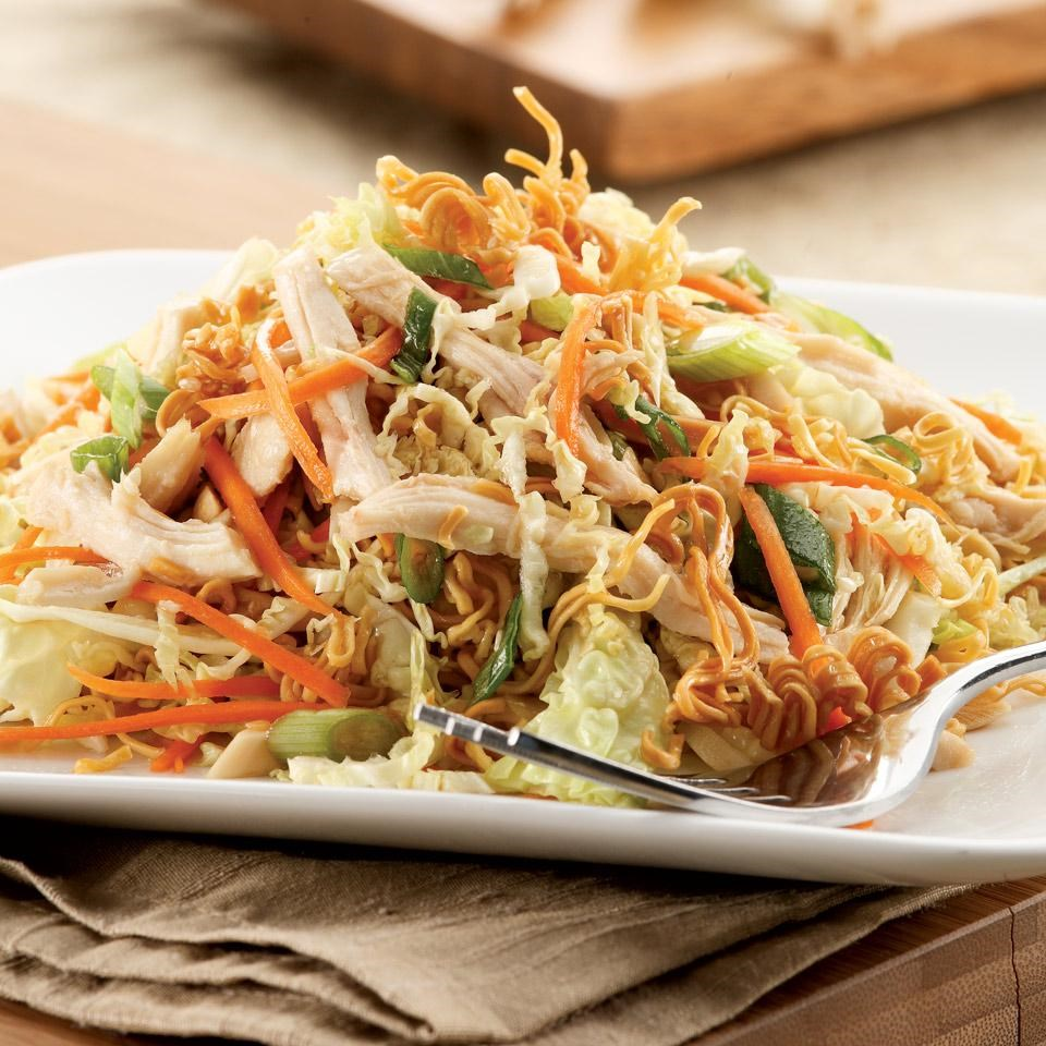 Apologise, but, Asian chicken noodle salad understand