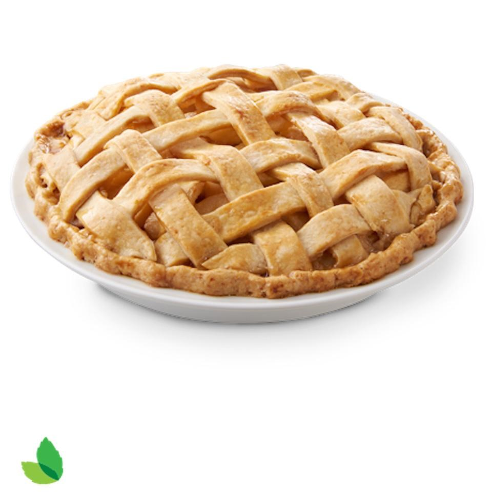 Reduced-Sugar Apple Pie