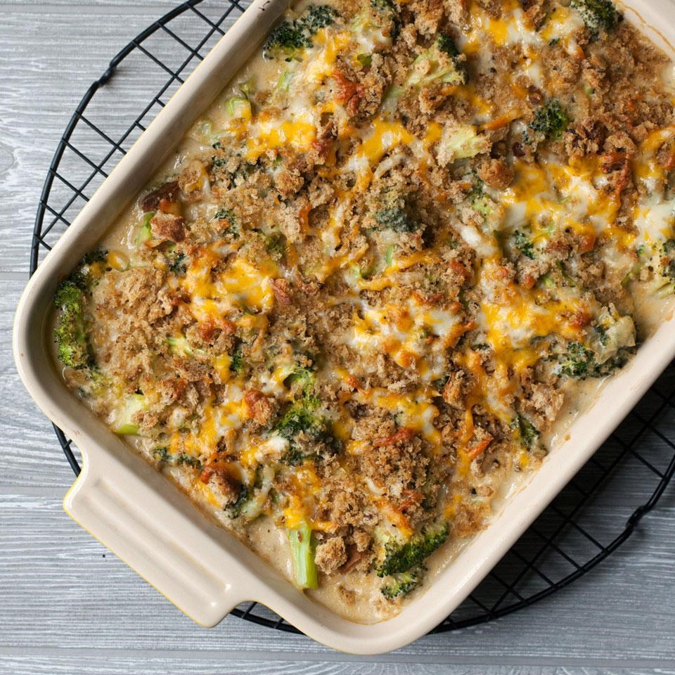 broccoli casserole recipe eatingwell