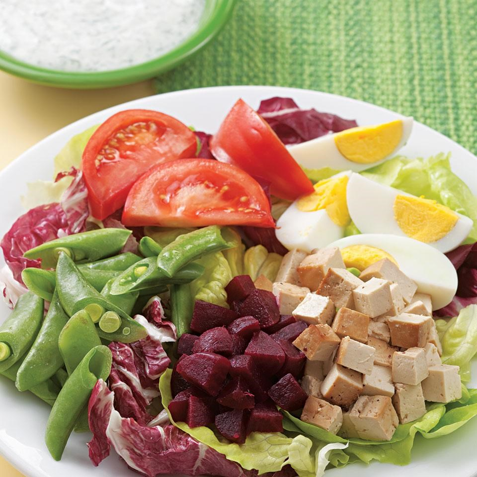 Composed Salad with Pickled Beets & Smoked Tofu Recipe - EatingWell