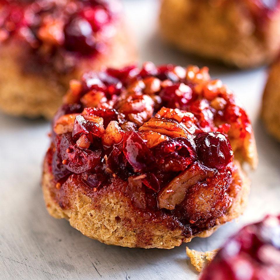 Cranberry-Pecan Cinnamon Rolls