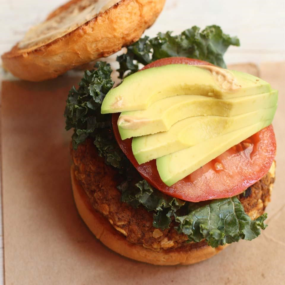 Sweet Potato Avocado Sliders