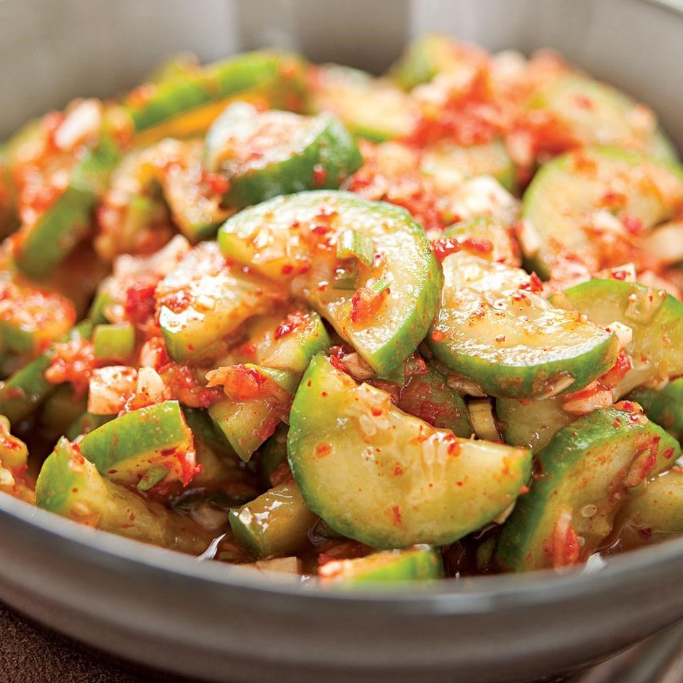 Quick Cucumber Kimchi Recipe Eatingwell