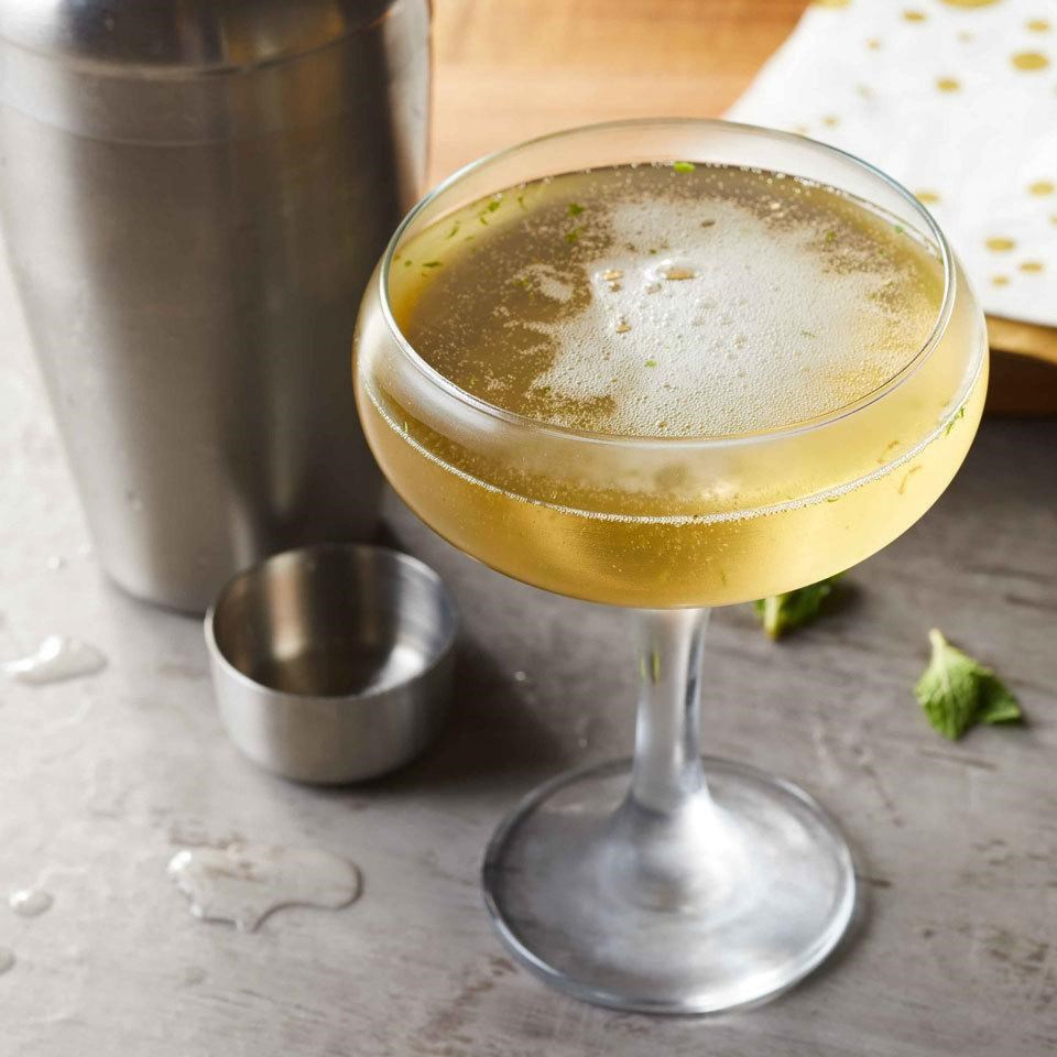 elderflower champagne cocktail recipe eatingwell