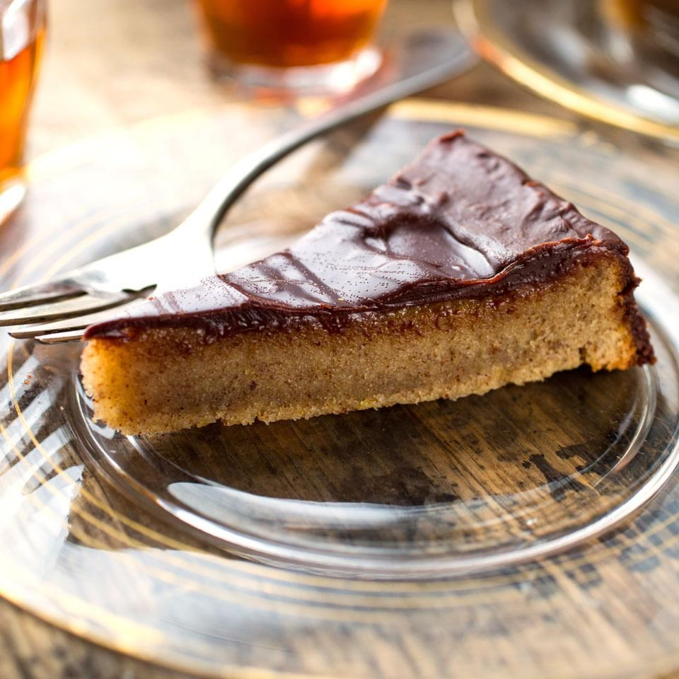 Chocolate-Covered Almond Cake Recipe - EatingWell