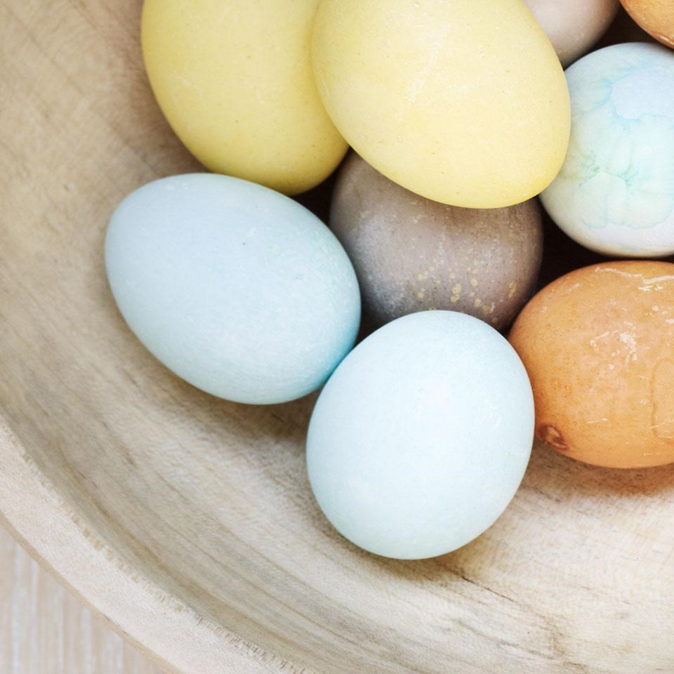 Blue Natural Egg Dye & Egg Coloring