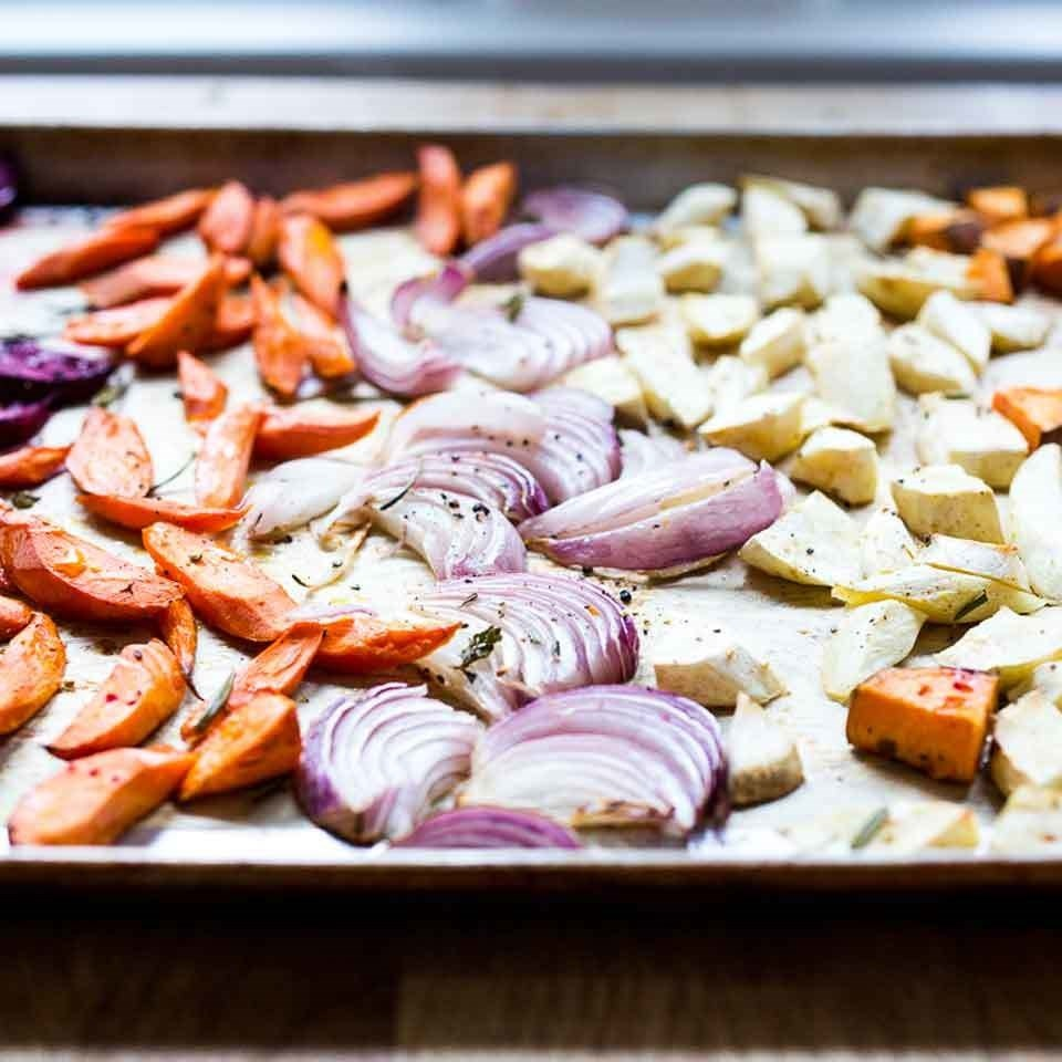 Sheet-Pan Roasted Root Vegetables