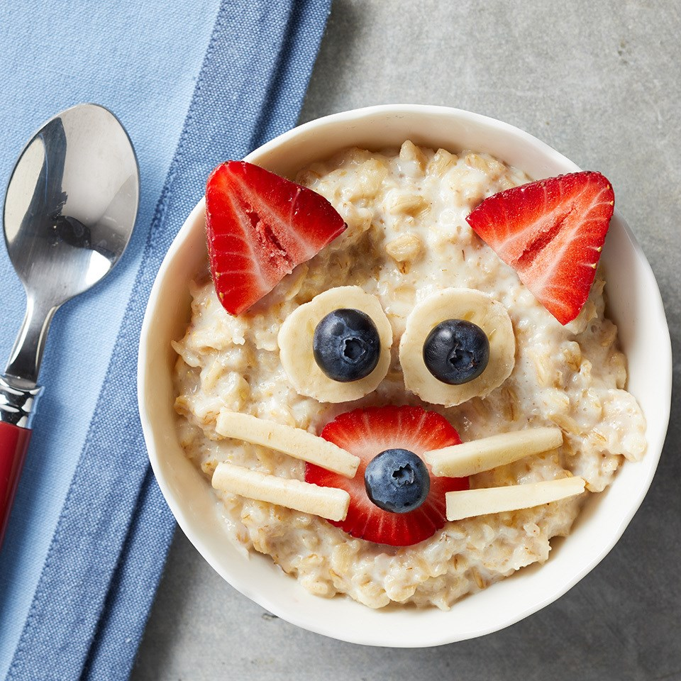 Kitty-Cat Oatmeal Bowl