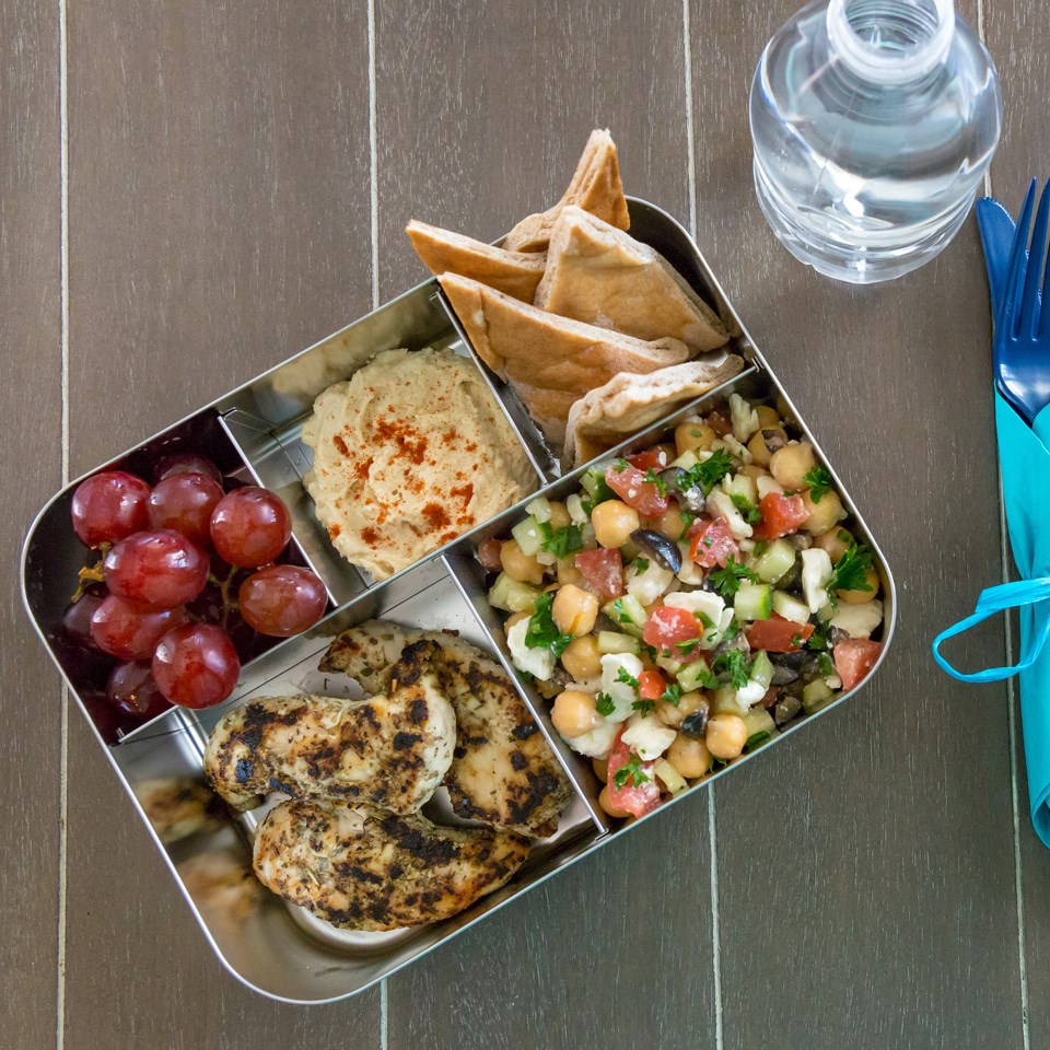 Mediterranean Bento Lunch Recipe