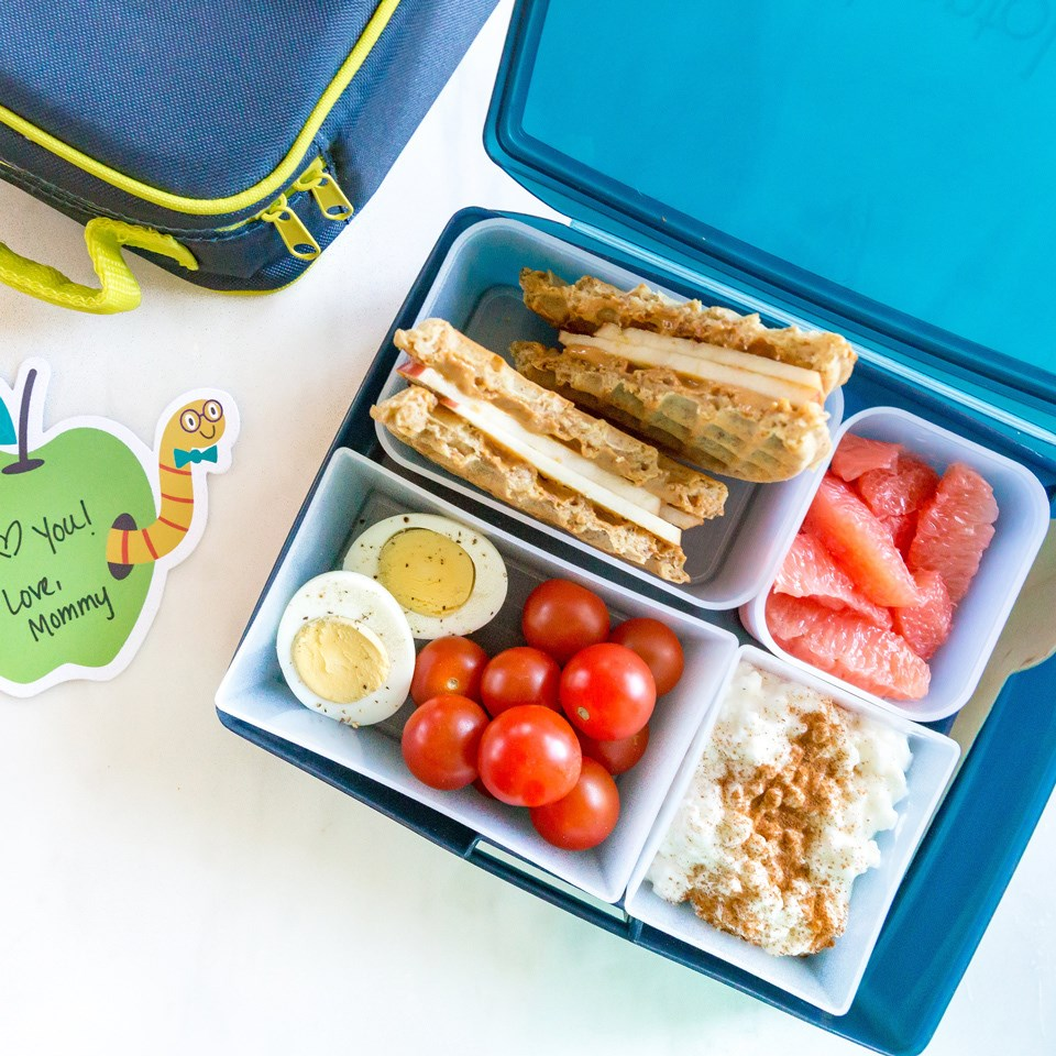 Breakfast-for-Lunch Bento for Kids