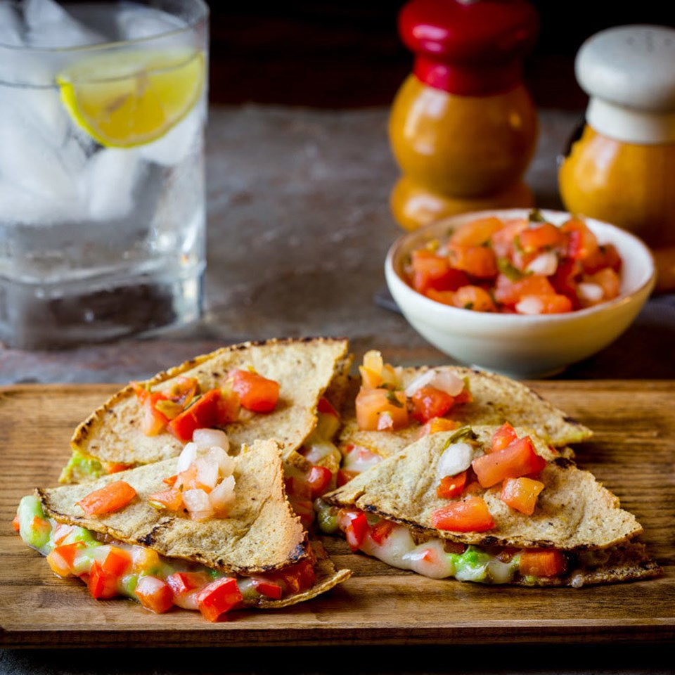 Toaster-Oven Quesadillas