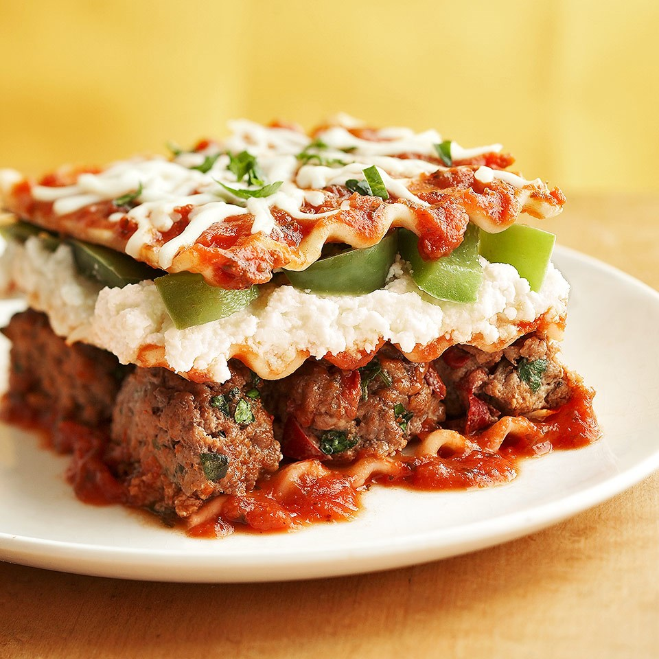 Meatball Lasagna Recipe