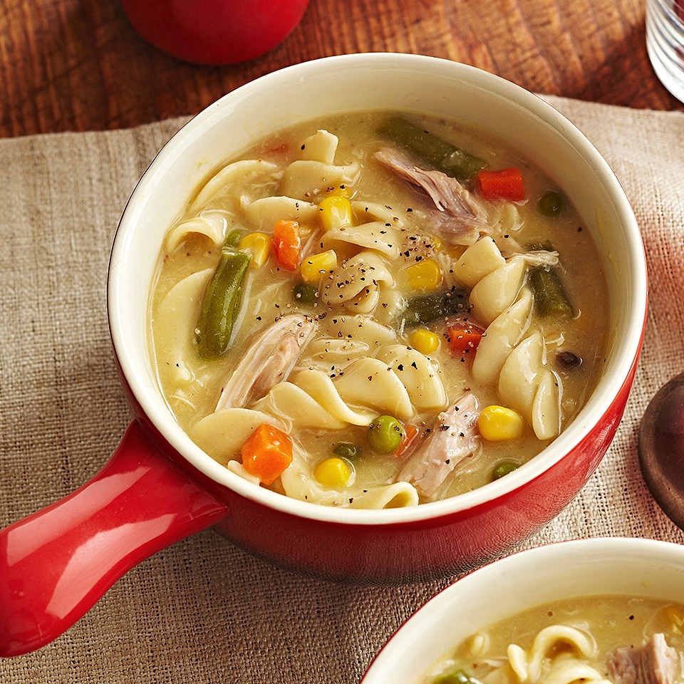 Container Home Plans: Creamy Chicken Noodle Soup Recipe