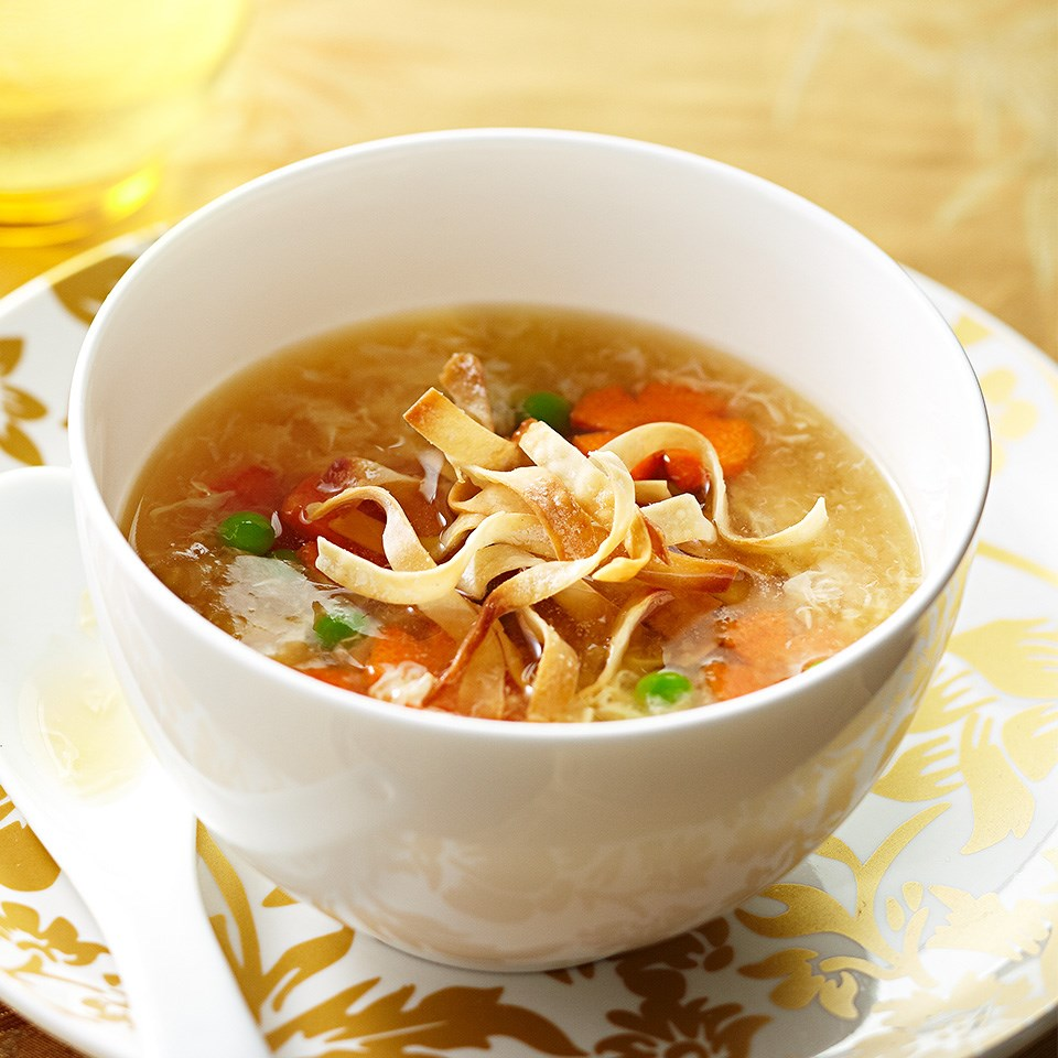 Egg Drop Soup with Vegetables