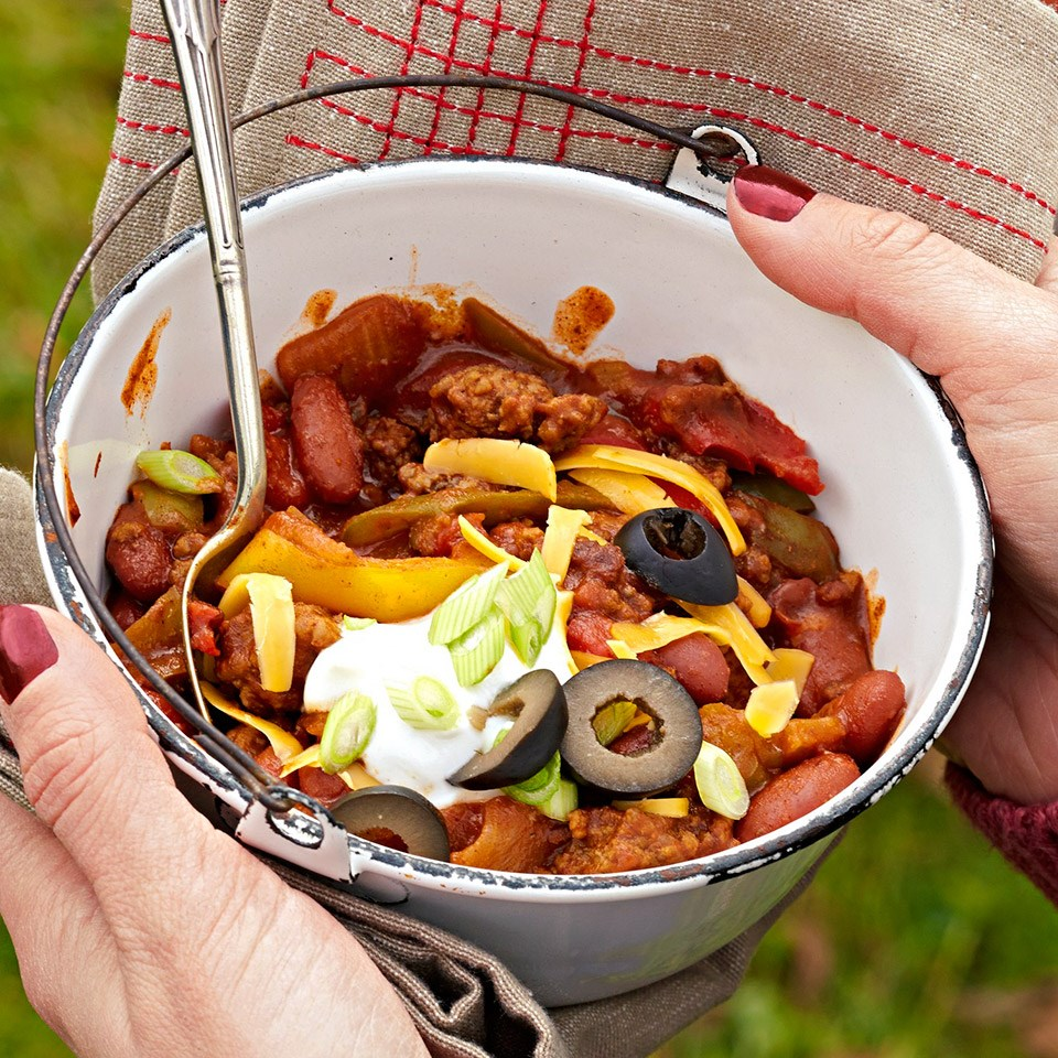 No-Chop Skillet Chili