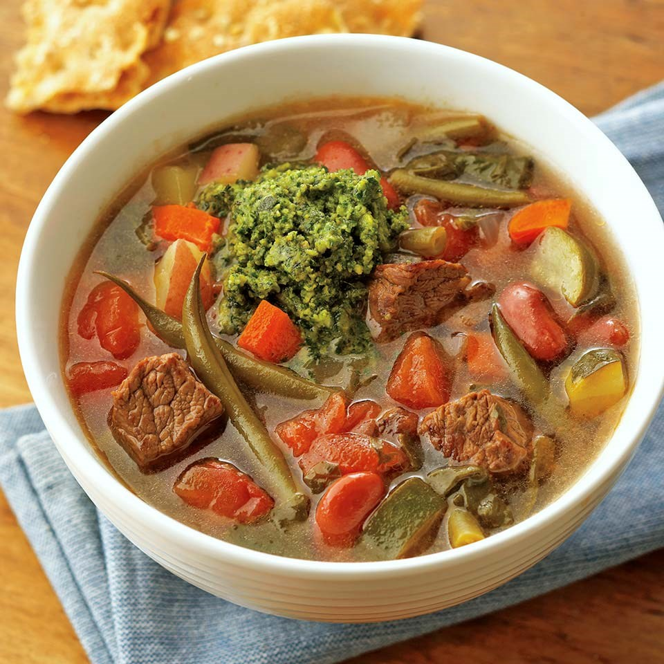 French Beef Stew au Pistou