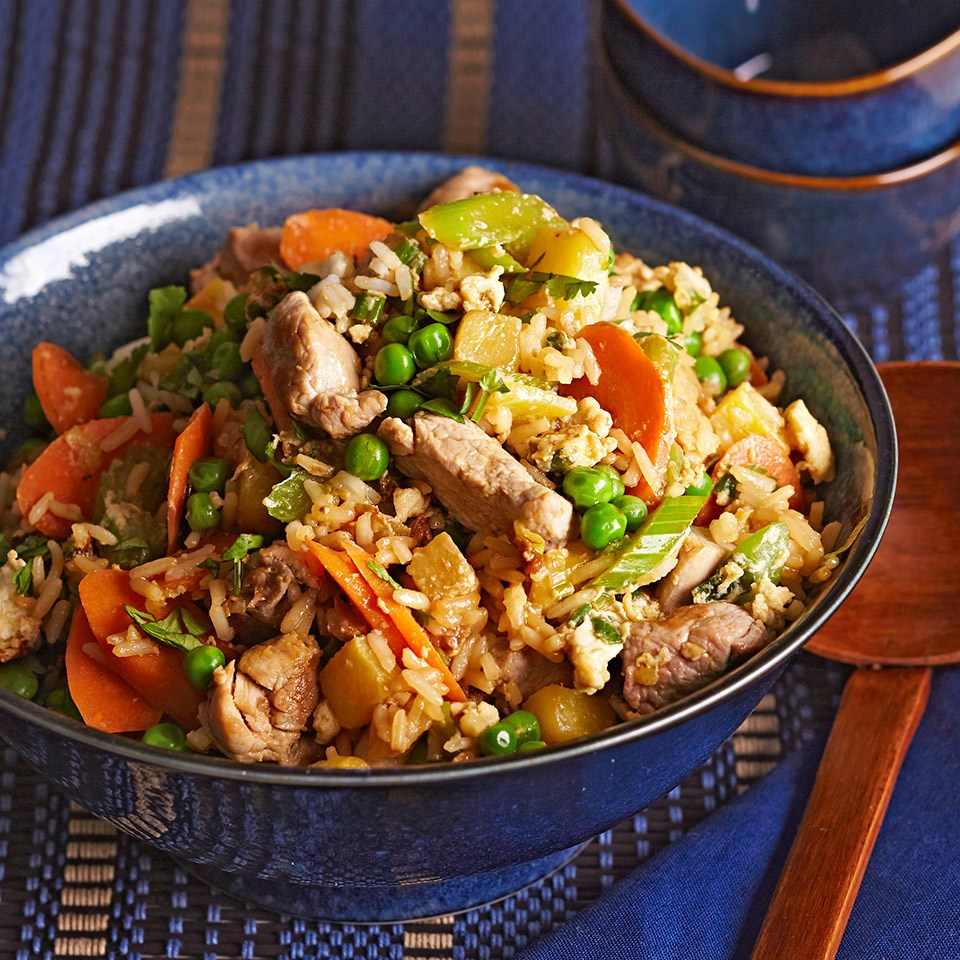 Pineapple Pork Fried Rice