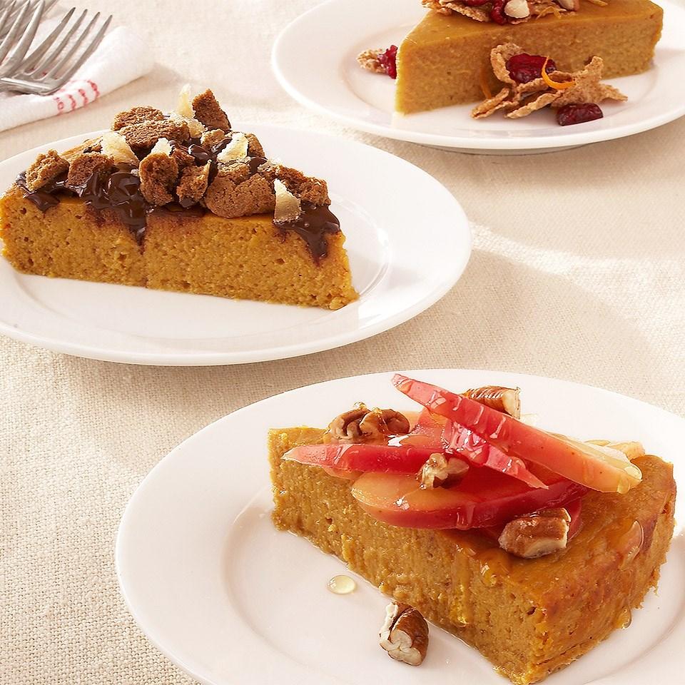 Basic Crustless Pumpkin Pie