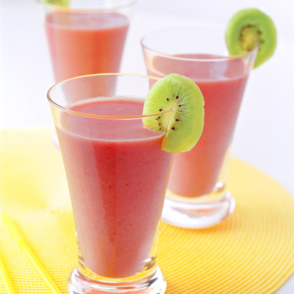 Strawberry-Banana Smoothies