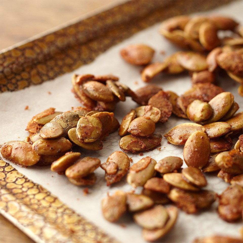 Toasted Pumpkin Seeds Recipe - EatingWell