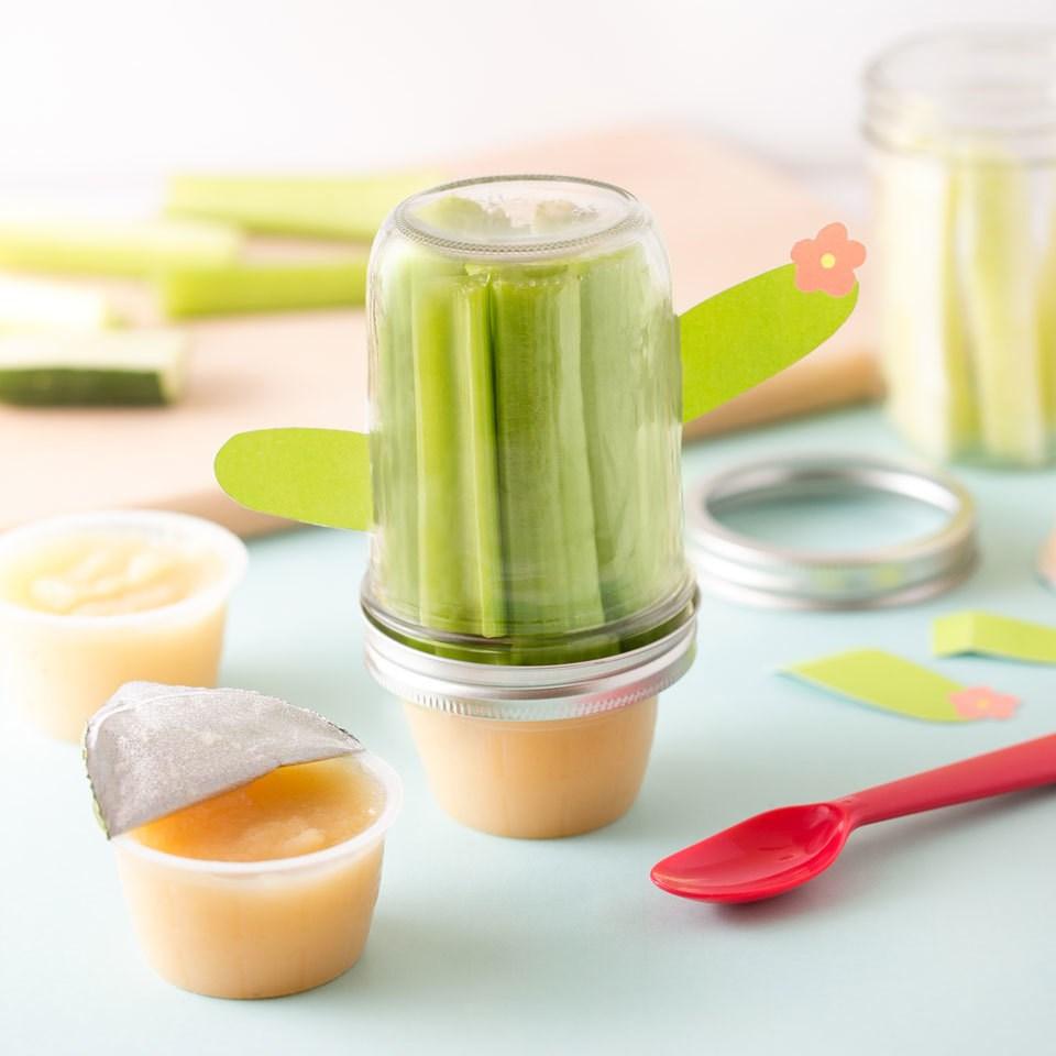 """""""Cactus"""" Snack Jar"""