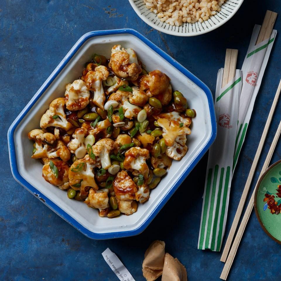Vegan General Tso's Cauliflower