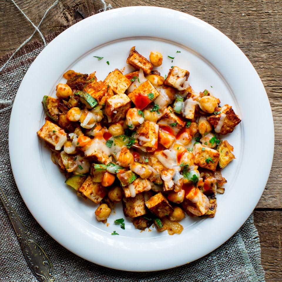 Tofu & Vegetable Scramble