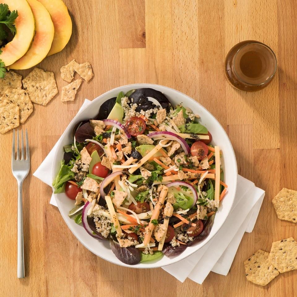Quinoa Cilantro Taco Salad