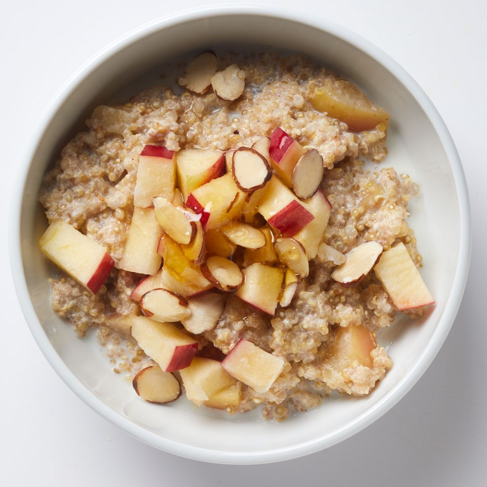 Apple Cinnamon Quinoa Bowl
