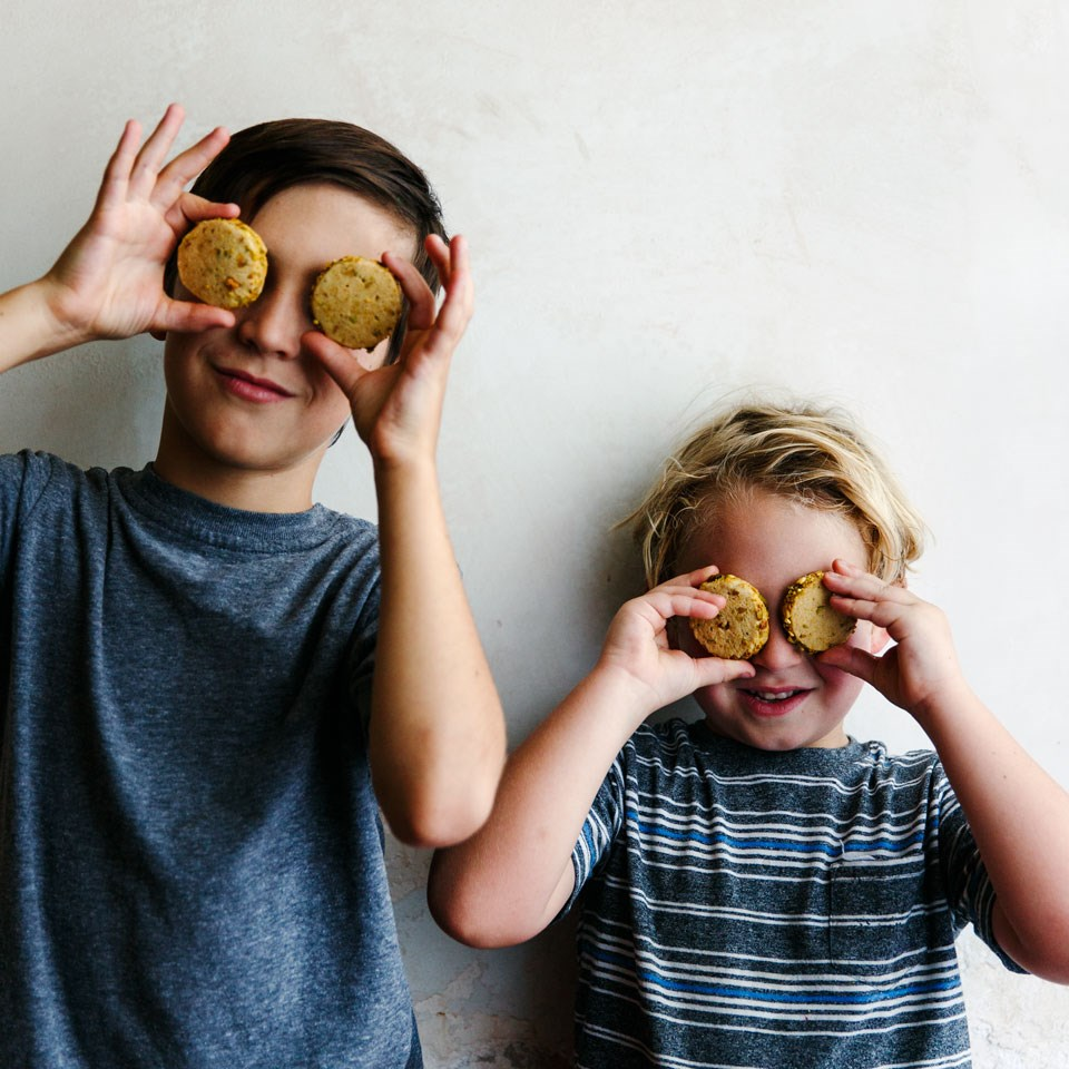 kids and cookies