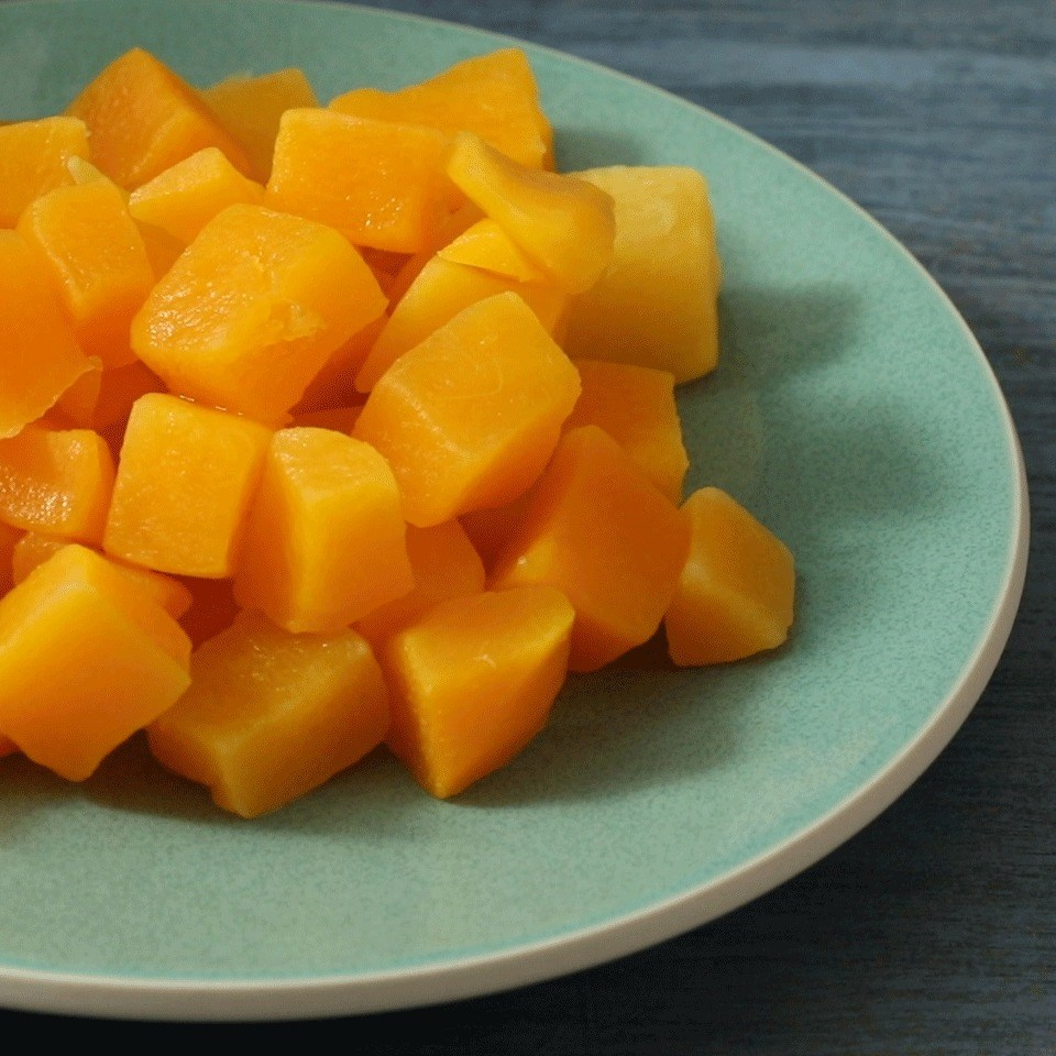 Steamed Butternut Squash