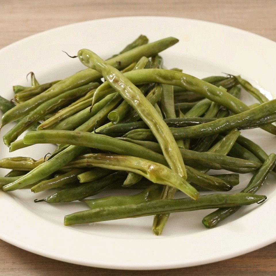 Roasted Fresh Green Beans