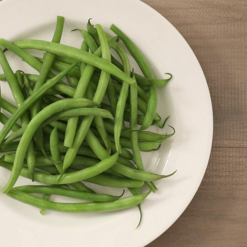 Steamed Fresh Green Beans